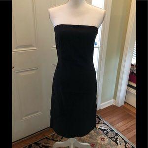 Esprit strapless black stretch dress 7/8
